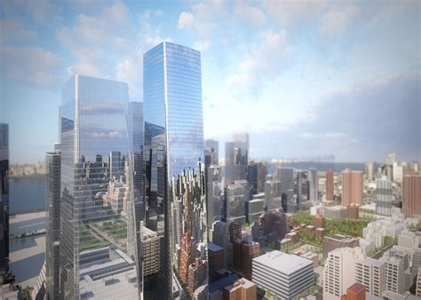 1 State Plaza 32nd Floor New York Ny 10004 - som architects reveal new renderings of hudson yards
