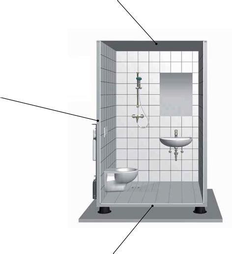 bagni prefabbricati per interni fertigbad saniclass sanika 100 individualit 228 t