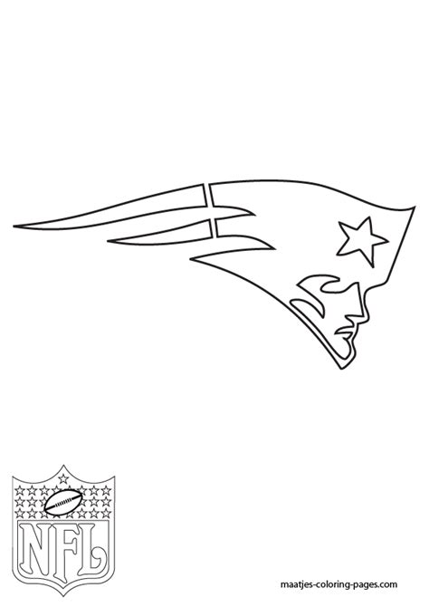 new england patriots coloring sheets coloring pages