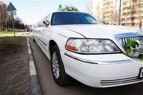 Wedding Limousine On City Street ? Lavish