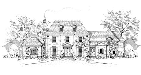 english manor house plans new south classics cotswold manor