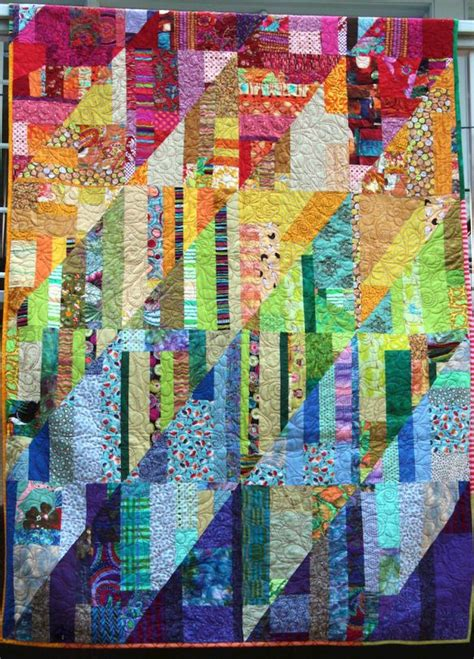 Scrap Patchwork - 17 best images about free style quilts on