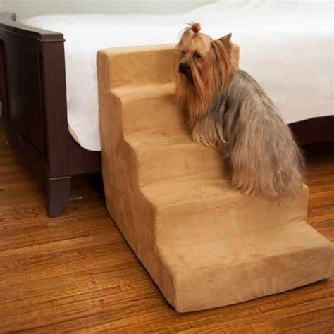 dog bed with stairs snoozer dog steps dog beds carriers