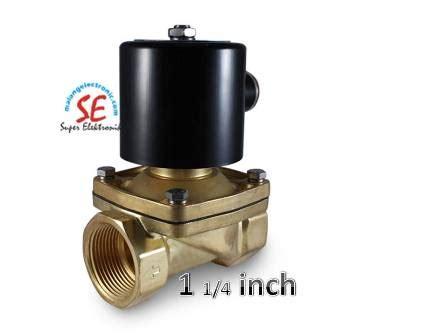 Valve Drat 14 solenoid valve 1 1 4 inch murah harga valve 1 1 4 inch malang electronic