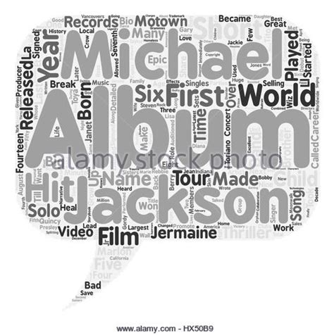 biography text of michael jackson rebbie stock photos rebbie stock images alamy