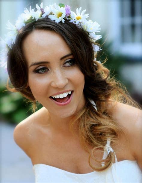 Wedding Hair Accessories Daisies by Bridal Floral Crown Hair Accessories By