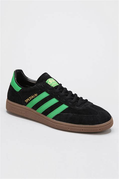 outfitters adidas spezial suede sneaker in green for black lyst