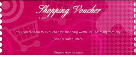 Shopping Gift Voucher Free Certificate Templates In Gift Certificates Category Shopping Certificate Template