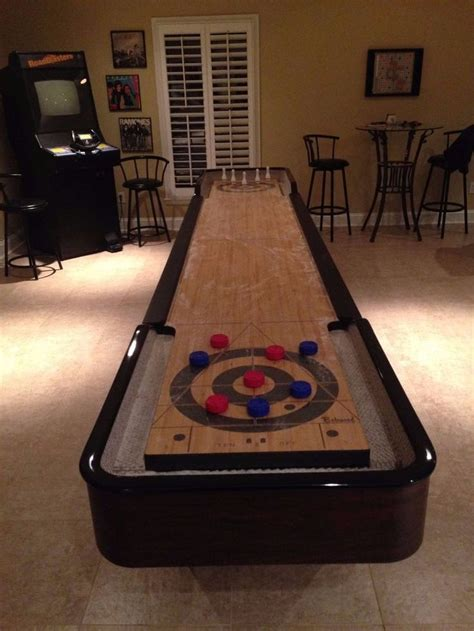 bobwood shuffleboard table  foot  sporting goods indoor games shuffleboard ebay