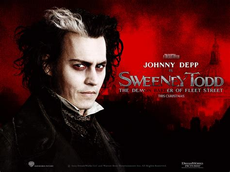 Tim Burtons Sweeney Todd by Sweeney Todd Tim Burton Wallpaper 540575 Fanpop
