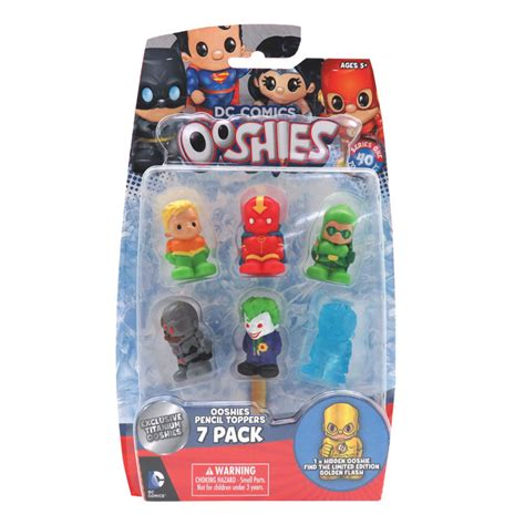 Chicco Better Starter Pack dc comics ooshies 7 pack series 1 random pack supplied