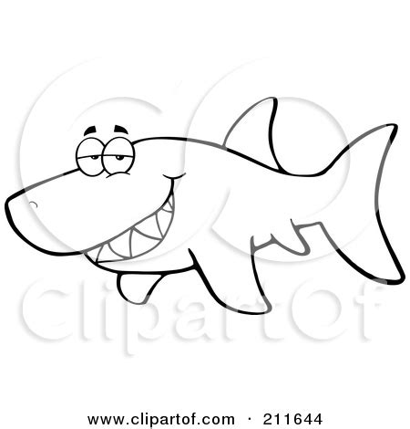 shark outline coloring page shark fin outline clipart panda free clipart images