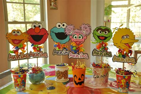 birthday themes sesame street 2nd birthday party themes for the best memories for
