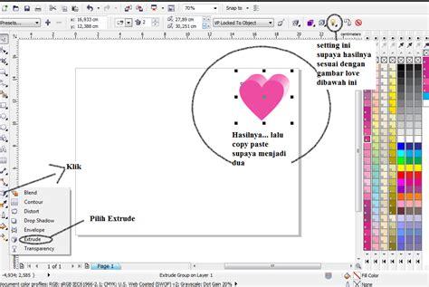 tutorial coreldraw membuat kartu ucapan tutorial membuat kartu ucapan valentine teknik komputer