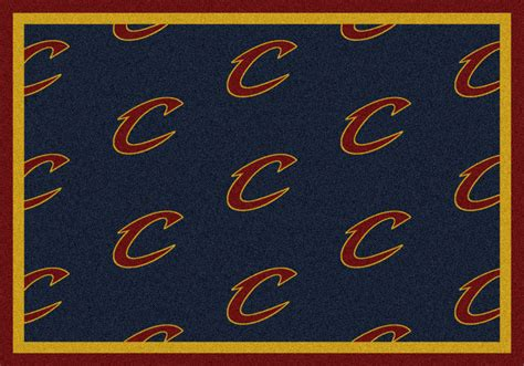 Area Rugs Cleveland 8x11 Milliken Cleveland Cavaliers Nba Repeat Area Rug Approx 7 8 Quot X10 9 Quot Ebay