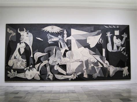 picasso paintings in reina sofia picasso s guernica on display at the reina sofia museum