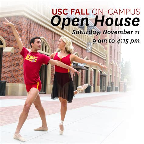 usc open house usc fall on cus open house november 11 usc glorya