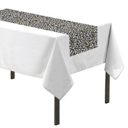 chemin de table ou nappe safari aldi