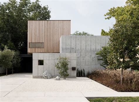 home design houston tx concrete box house by robertson design in houston texas