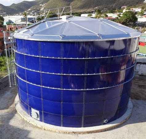 Steel Tank glass fused to steel bolted tanks by uig united