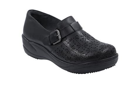 anywear shoes anywear s maryann black leather step in shoe