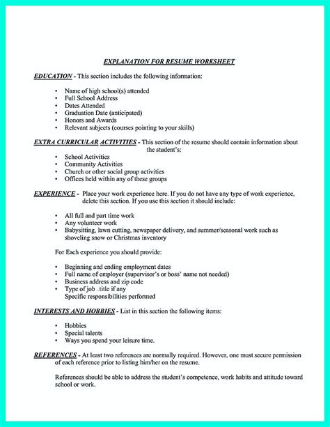 College Golf Resume by Simple College Golf Resume With Basic But Effective