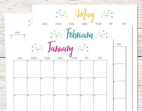 Calendario 2017 Imprimir Gratis 10 Calendarios 2017 Para Imprimir Gratis