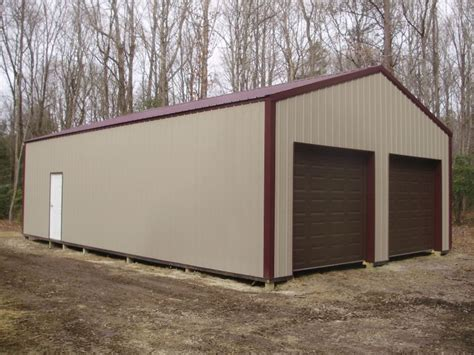 24 X 40 Garage by 24 W X 40 L X 10 4 Quot H Pioneer Pole Buildings Garage