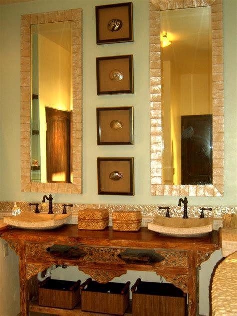 mirrored bathroom vanities mirrored bathroom vanities hgtv