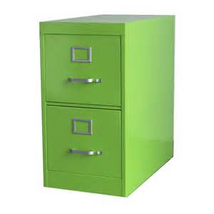 Colored File Cabinets File Cabinet 2 Drawer Green By Twenty Fab