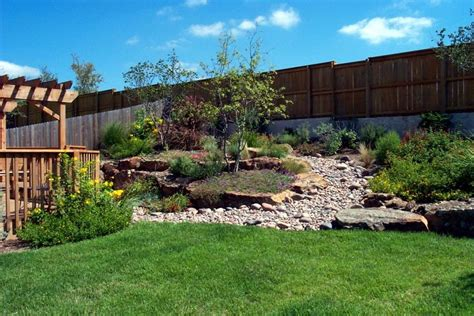 garden ideas sloped backyards sloping garden design idea landscaping gardening ideas