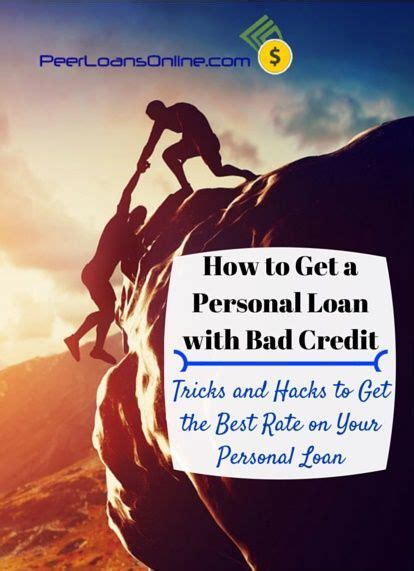 getting a loan with bad 17 best ideas about loans for bad credit on