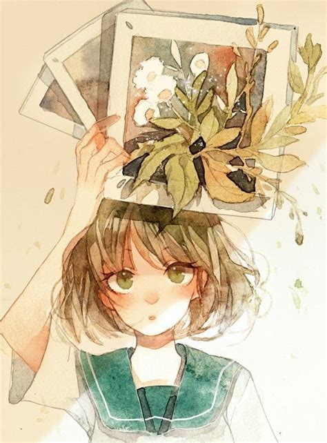 tutorial watercolor manga 120 best anime in watercolor images on pinterest