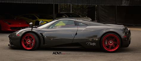 pagani wheels it finally happened adv1 wheels for pagani huayra