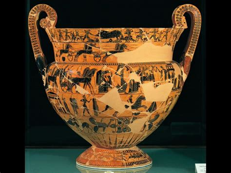Ancient Greece Vase Painting by Experience