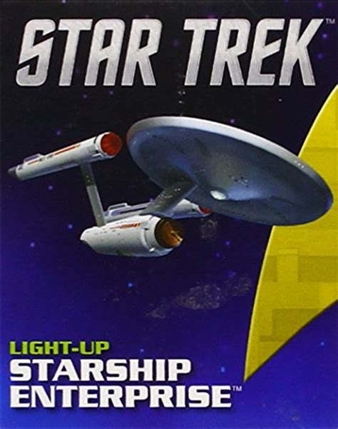 the light runner books trek light up starship enterprise by chip