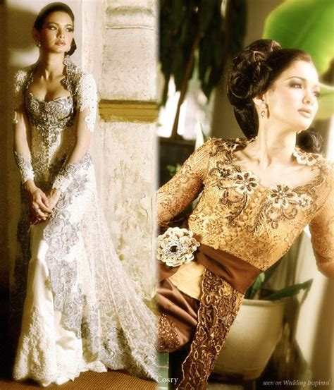 Kebaya Setelan Brokat Betwing Milo comparison between kebaya lace design and brocade my fashions kebaya lace