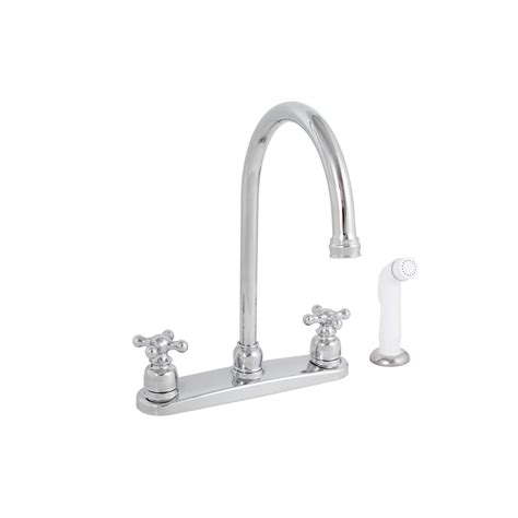 premier kitchen faucets premier brushed nickel kitchen faucet with sprayer