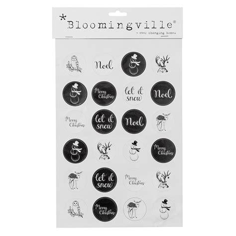 Sticker Weihnachten Schwarz bloomingville sticker weihnachten schwarz kaufen