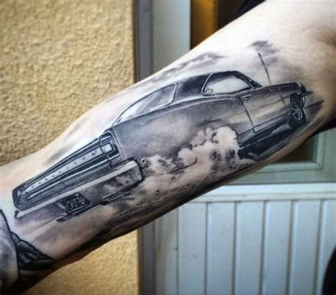 car tattoo 70 car tattoos for cool automotive design ideas