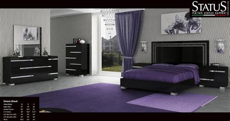 black king bedroom set ebay volare king size modern black bedroom set 5pc made in