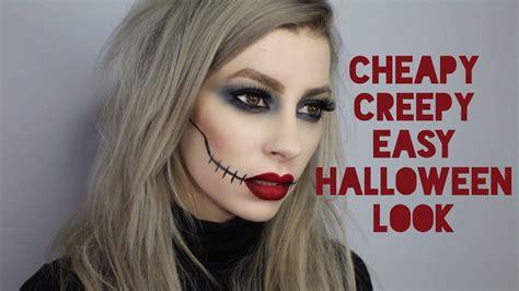 Simple Halloween Costumes Makeup