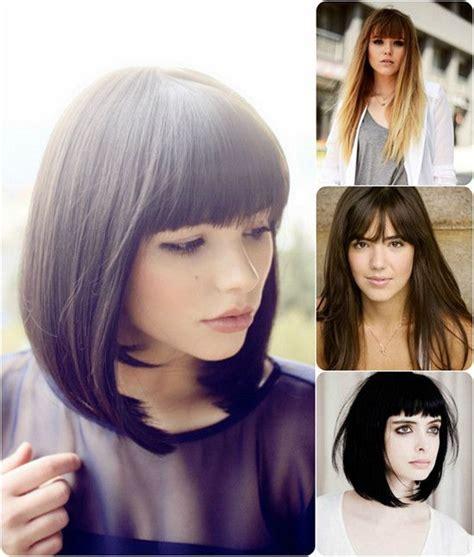 hair on pinterest blunt bangs bangs and nashville fashion cute long blunt bob with blunt bangs long enough to pull