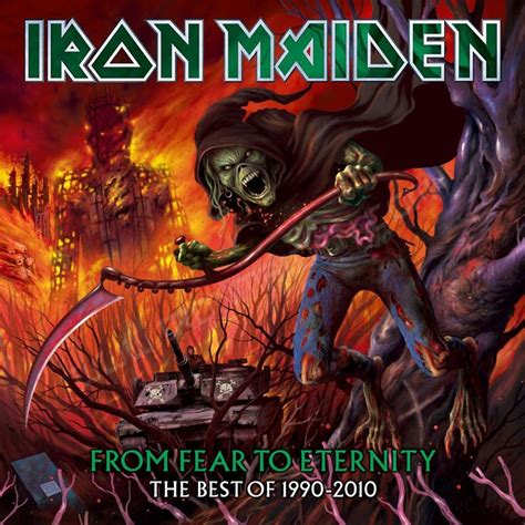 iron maiden the best of iron maiden from fear to eternity the best of 1990