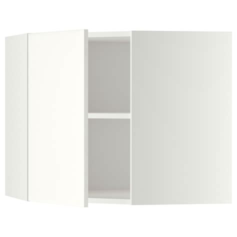 ikea corner wall cabinet shelf metod corner wall cabinet with shelves white h 228 ggeby white