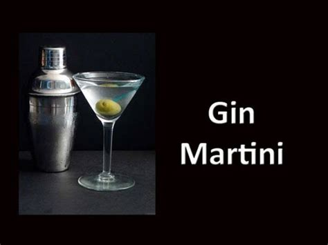 dry martini recipe dry gin martini cocktail drink recipe youtube