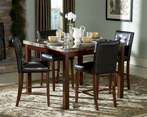 Tall Dining Room Sets | countrer height dining room set achillea el 3273 36s