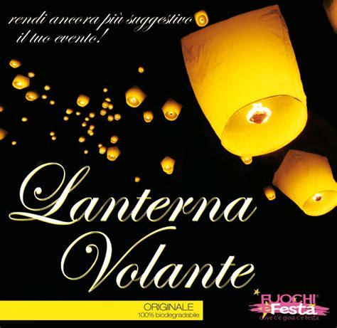 vendita lanterne volanti lanterna volante gialla fuochi e festa