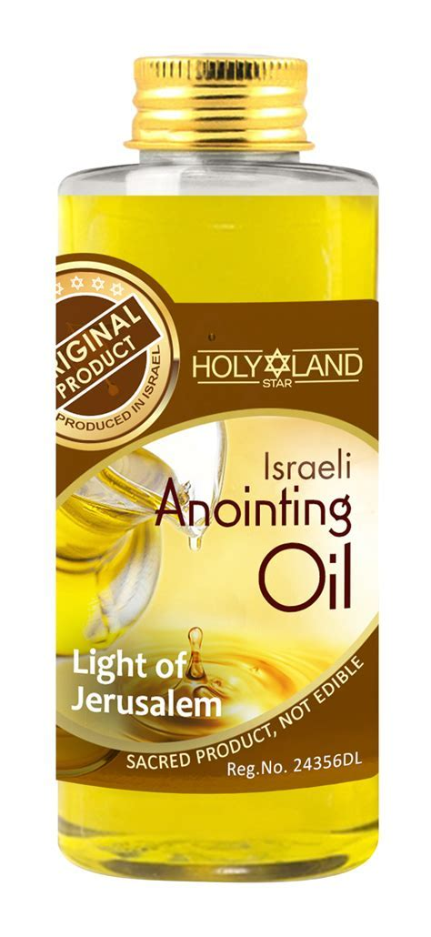 Holyland Star Anointing Oil Light Of Jerusalem (Prosperity