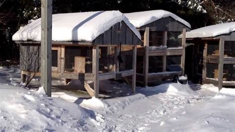 How To Winterize A House by Canadian Rabbit Hutch Winter Update